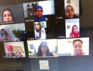 Zoom session - women's group