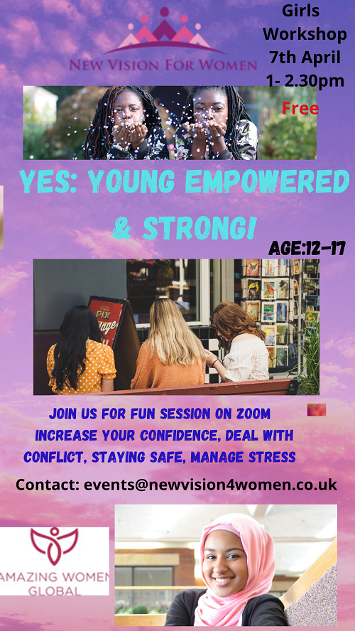 girls workshop poster